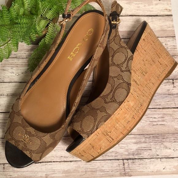 Coach Shoes | Platform Sandals | Poshmark